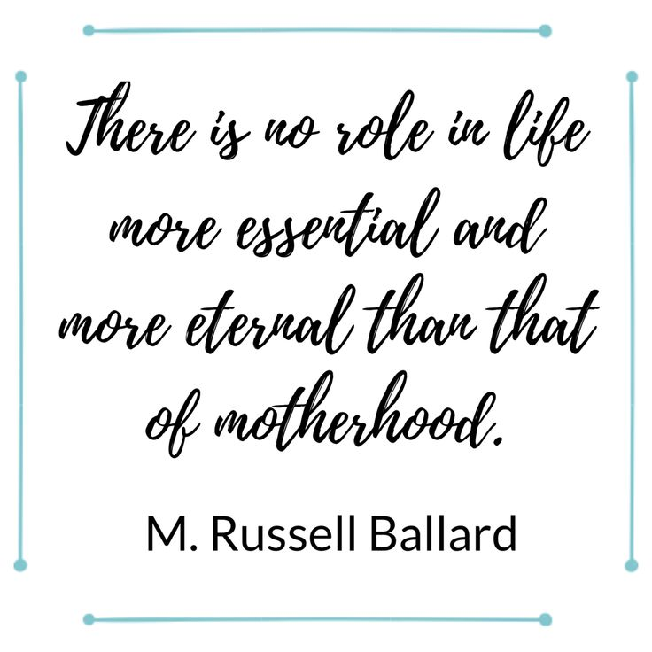15 Zitate, die Mutterschaft definieren – Quotes