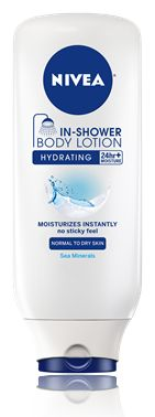 In-Shower Hydrating Body Lotion- this stuff is great! I use it at the end of my shower on my hands, then I push back my cuticles with my nail. Works like a champ.