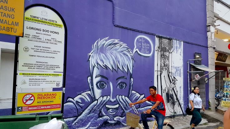 """Purple Hokkien"" by Jim Oo Chun Hee and John Cheng, Lorong Soo Hong , George Town"