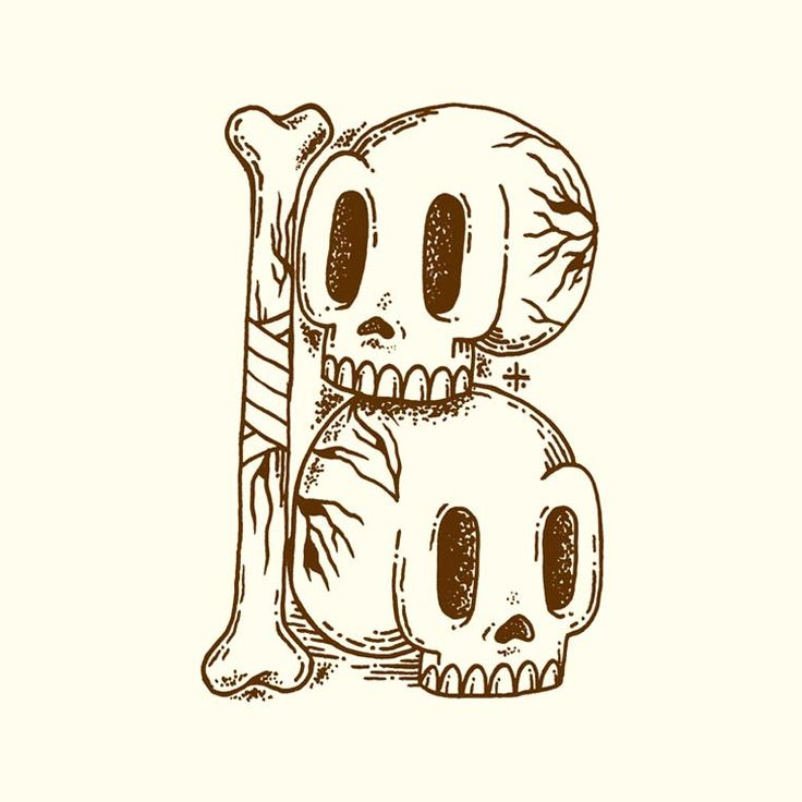 36 Days Of Type – Un joli abécédaire entre tatouage et typographie (image)