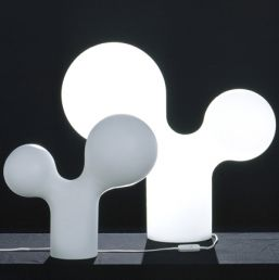 Double Bubble lamp. Designed by Eero Aarnio (Finland) in 2000.