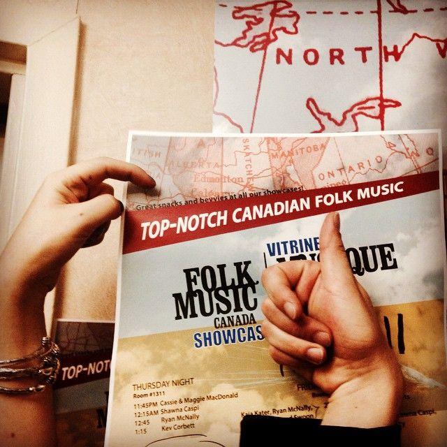 TOP NOTCH Canadian Folk Music #NERFA2014 @spincount
