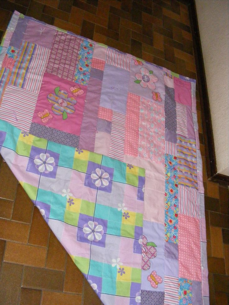 Jade's quilt and backing