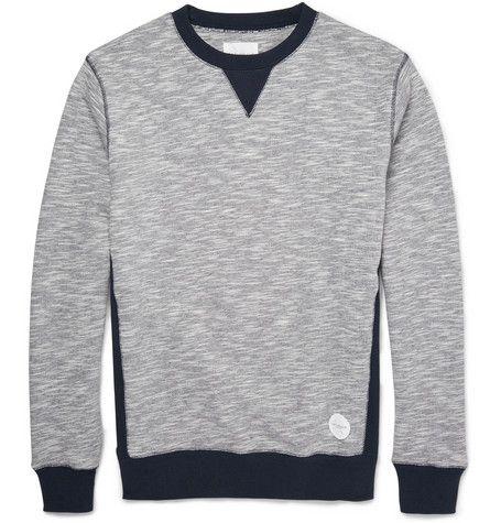 Saturdays Surf NYCBowery Two-Tone Cotton Sweatshirt