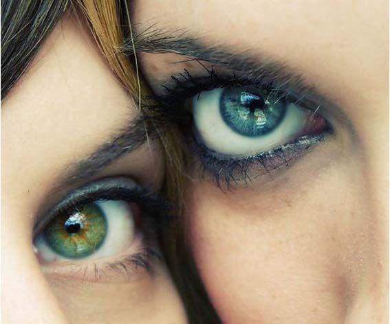 Необычайно красивые глаза