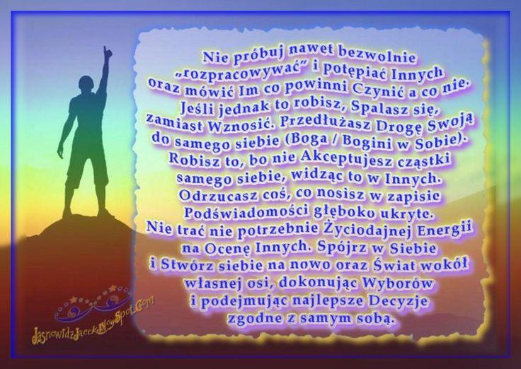 Stwórz na nowo siebie i Świat wokół własnej osi   http://jasnowidzjacek.blogspot.com