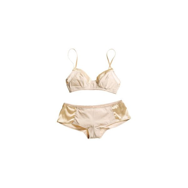 Splurge vs Steal: Lingerie - Marie Claire ❤ liked on Polyvore featuring intimates, lingerie, underwear and undergarments