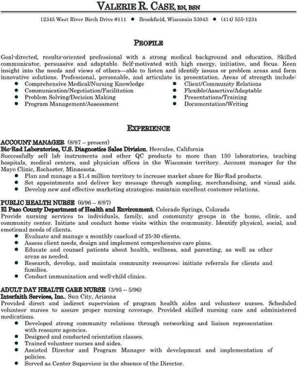 Clinical Nurse Supervisor Resume Sample: Resumes. How To Write A Professional Resume: Best-medical