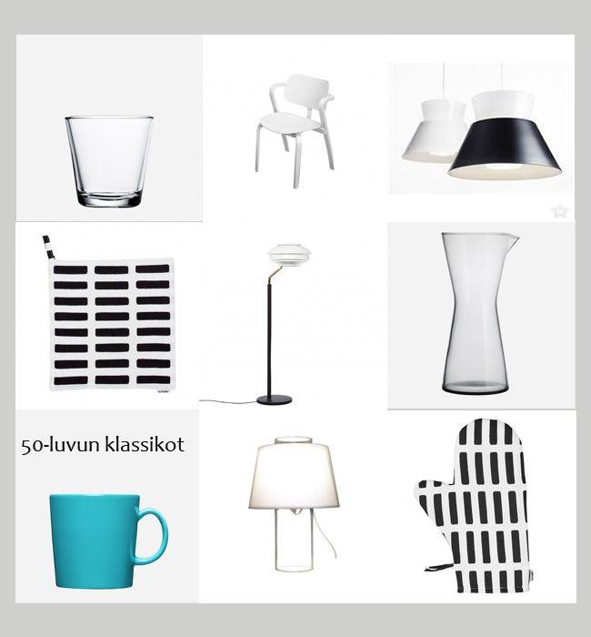 Finnish design classics from 50's