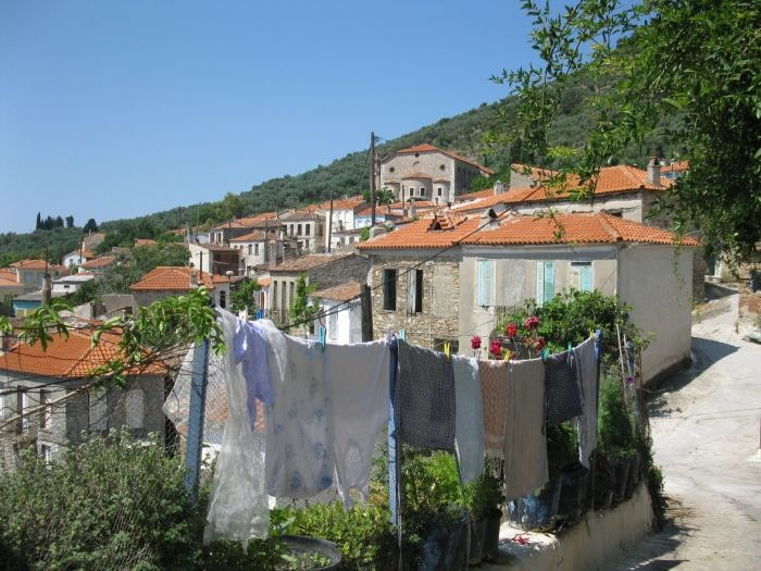 Lesvos island - Greeka.com | Greece | Greek islands Paleochori Lesvos: Paleochori village in Lesvos
