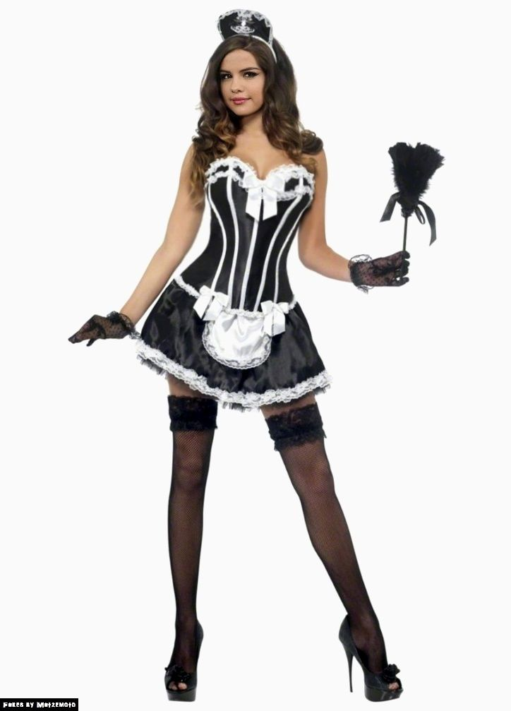 df496f54a82c6 Selena Gomez French Maid Request (v.01) by Matzemoto | Halloween ...