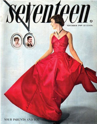 Seventeen magazine cover from 1949