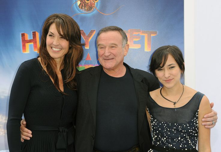 The battle for Robin Williams's estate erupts between kids and third wife
