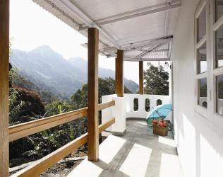 View from Planter's Villa at The Windermere Estate, Kerala, India