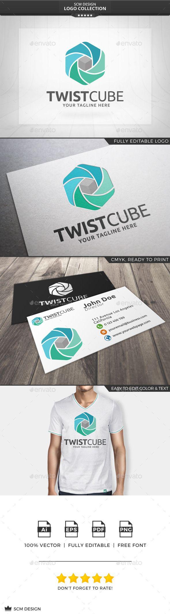 Twist Cube Logo