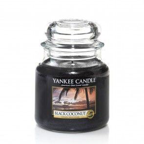 Yankee Candle Medium Jar - Black Coconut