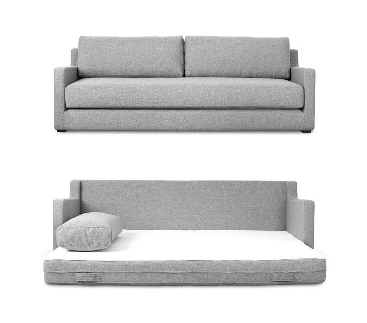 Gus* Flip Sofabed in Parliament Stone #globewest #furniture #sofabed #gus