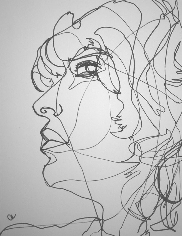 Continuous Line Drawing Famous Artists : Best images about one line drawings on pinterest