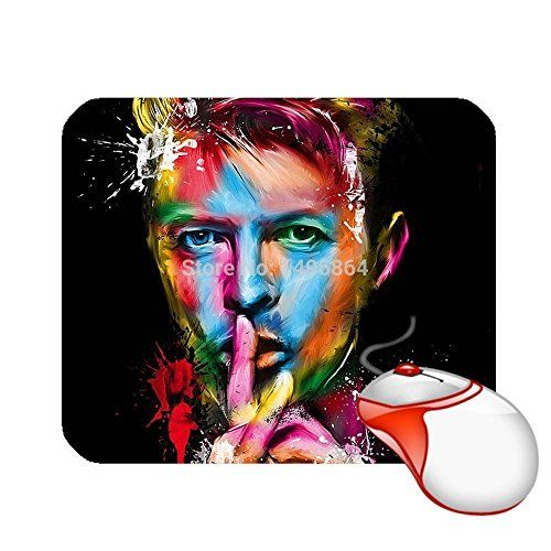 Custom David Bowie Fans Mouse Pad Cool Computer Mousepads