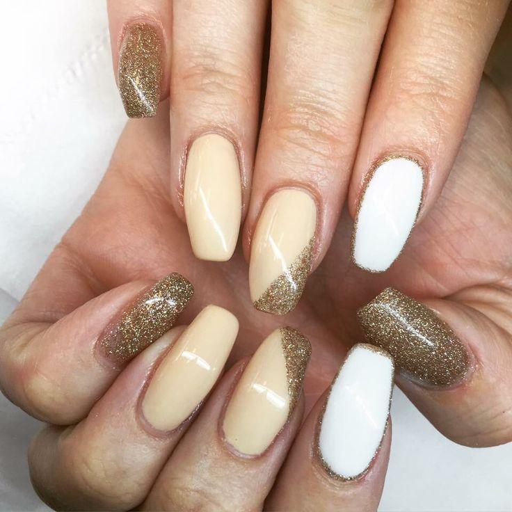 Gelenegler gel nails glitter