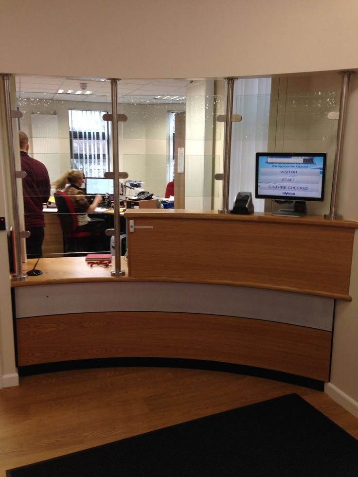 8330 New School Main Entrance Extension At St Josephs Bradford Reception Counter With