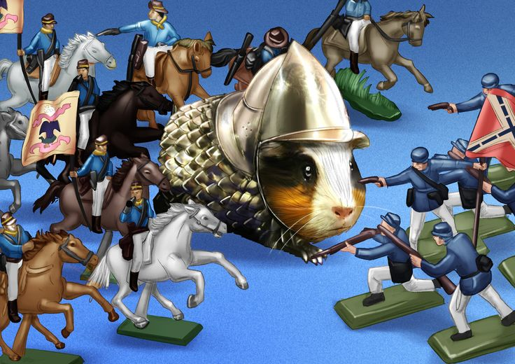 If you've ever been concerned about your guinea pig getting injured while doing battle then a piece of armour that's gone on sale may be just what you need. The battle gear was spotted to buy on eBay after its previous owner Lucky the guinea pig died. The pet can be seen modelling the fetching chain-mail and helmet in a series of promotional shots to the delight of many users online.