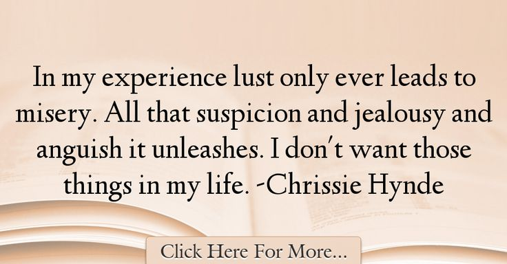 Chrissie Hynde Quotes About Experience - 17722