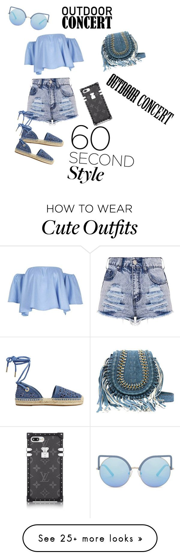 """Cute, classy easy to pick up outfit :)"" by julietteslife12 on Polyvore featuring MICHAEL Michael Kors, Matthew Williamson, 60secondstyle and outdoorconcerts"
