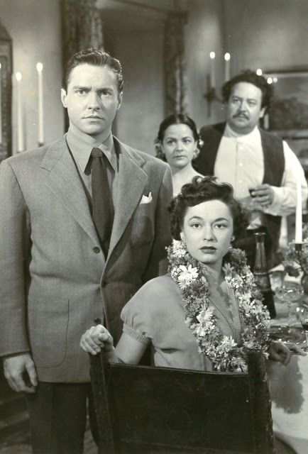 RICHARD TODD AND RUTH ROMAN