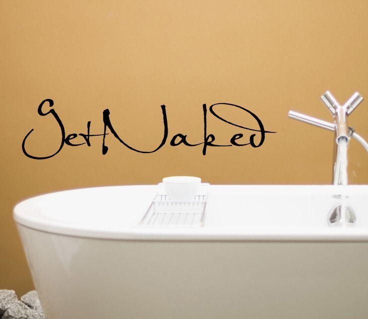 1000 citations de salle de bains dr les sur pinterest for Decalque mural