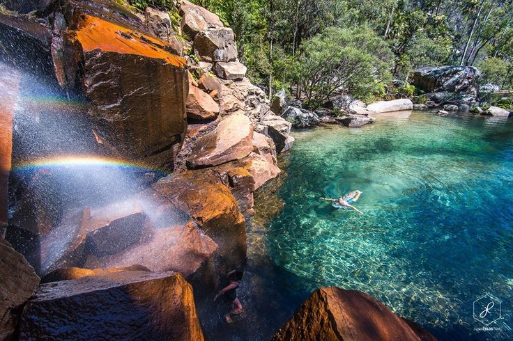 Rainbow Waters, Blackdown Tableland National Park, QLD, Australia
