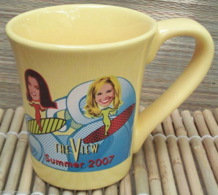 The View Rosie O Donnell Mug ABC TV Show Summer 2007 Mug Elisabeth Hasselbeck  (scheduled via http://www.tailwindapp.com?ref=scheduled_pin&post=204857)