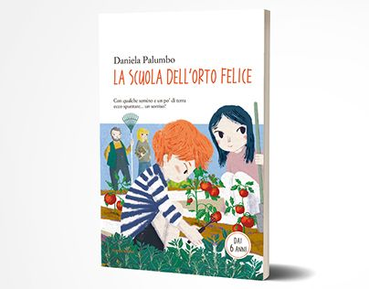 "Check out new work on my @Behance portfolio: ""Children Book, Cover, illustrations"" http://be.net/gallery/54884349/Children-Book-Cover-illustrations   A children book about vegetable garden and much more"