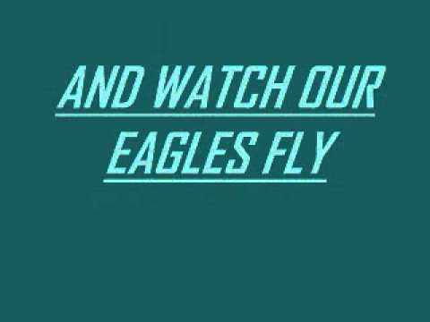 """""""Fly, Eagles, Fly"""" The Philadelphia Eagles Fight Song - YouTube"""