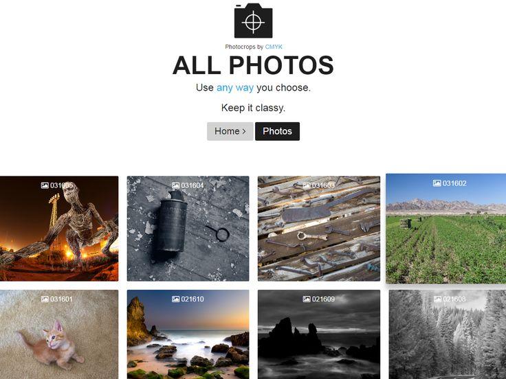 Photocrops (포토크롭스)Photocrops (포토크롭스)독특한 사진이 일자별로 구분되어 있고 다른사이트와 중복되는 사진이 없음. 단점이라면 사진이 그리 많은편이 아닙니…