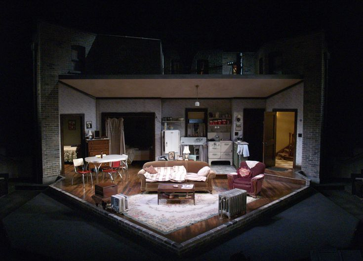 Milwaukee Repertory Theatre Scenic Design By Jack Magaw