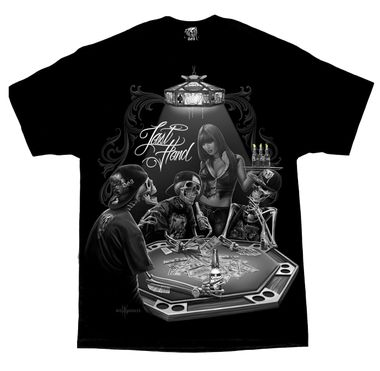 LAST HAND MEN'S T-SHIRT $A39.95 Sizes: M-4XL http://www.barrioessencez.com.au/last-hand-mens-tee/