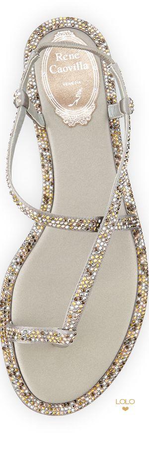 Fashion Shoes | ShoeAddict | Rosamaria G Frangini || Rene Caovilla | LOLO❤︎