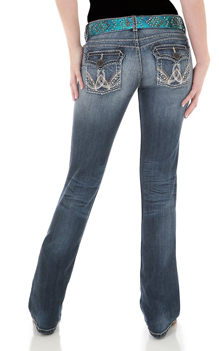 miss me womens medium wash with cross embroidery cuffed