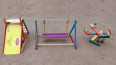 3 DIY Popsicle Sticks Playground Toys : How to make Watch this video: https://www.youtube.com/watch?v=zV8j1ttC3Ic Today, we will show you how to make 3 easy DIY Playground toys, made from Popsicle sticks with Easy Steps for kids. Material used: - Popsicle Sticks - Glue - Knife & Scissor - Cardboard Easy Crafts, DIY, LifeHack, all in one Welcome to Backyard Crafts ( Creative DIY Crafts Ideas) Please like, comment and share...