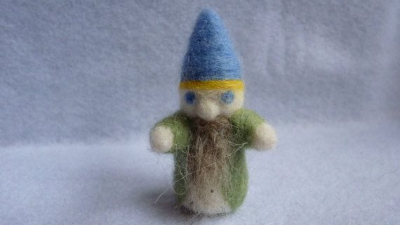 woodland gnome by WoodlandFeltCrafts on Etsy, €15.00