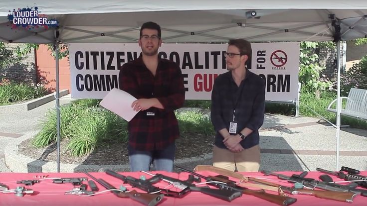 Steven Crowder exposes the ignorance of anti-2nd Amendment citizens.