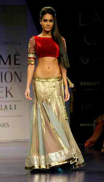 Manish Malhotra - wow blouse