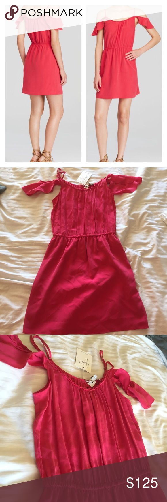Joie Scari Dress Gorgeous watermelon colored Joie dress. Never worn. Brand new. NWOT Joie Dresses