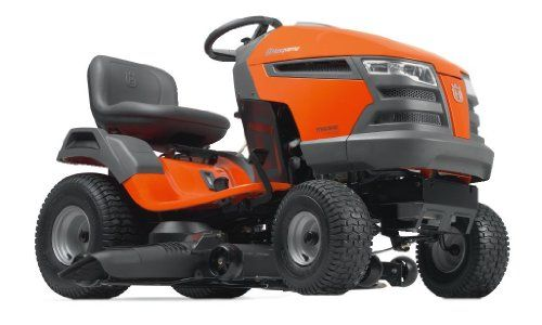 Husqvarna YTH23V48-CA 48-Inch 724cc 23 HP Briggs & Stratton Intek V-Twin Pedal Activated Hydrostatic Transmission Riding Lawn Tractor (CARB Compliant)   Best Buy Garden Tools Store