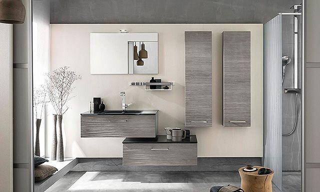 Meubles salle de bains bois Delpha Unique 90