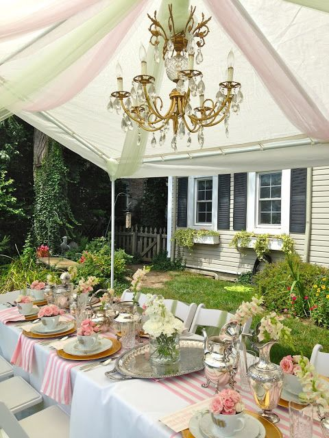 Garden party from The Enchanted Home