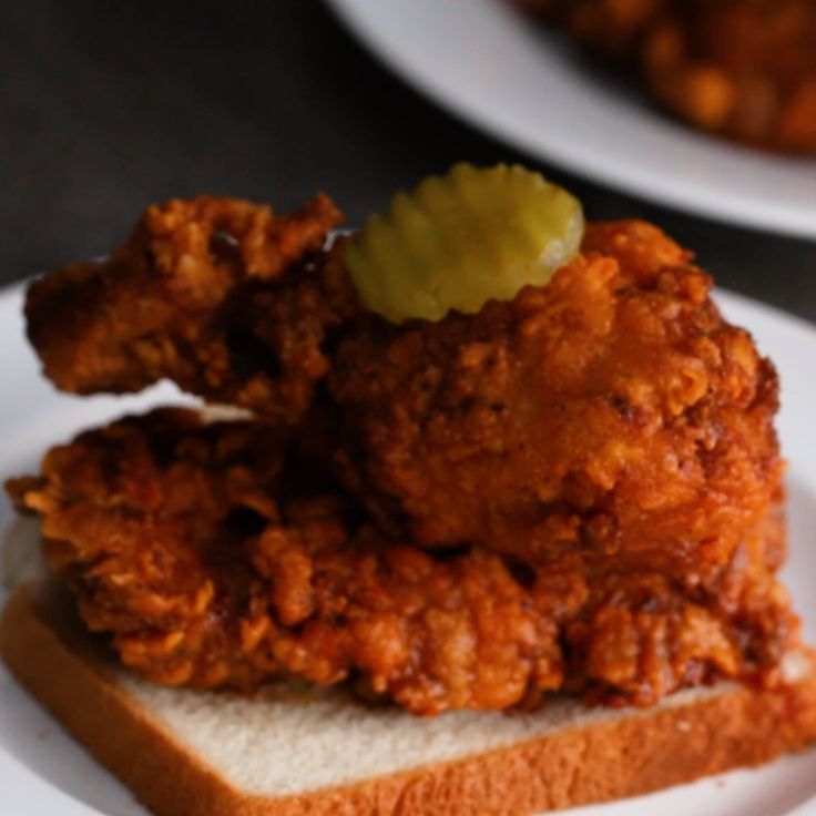 Restaurant vs Homemade Nashville-Style Hot Chicken