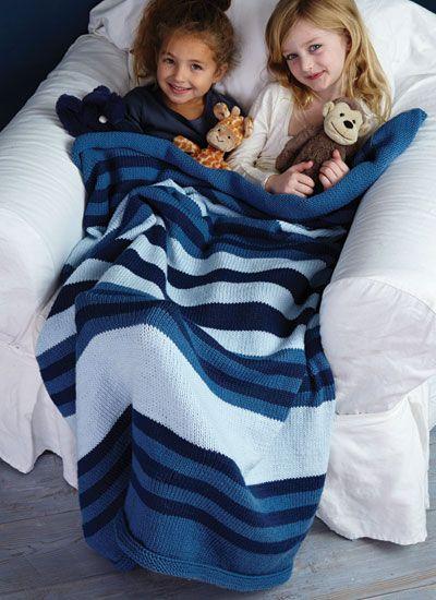 Pattern #7 Striped Blanket