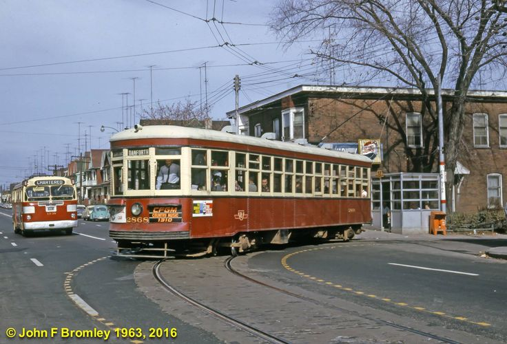 TTC  Toronto  Peter  Witt  Streetcar  and Twin Coach